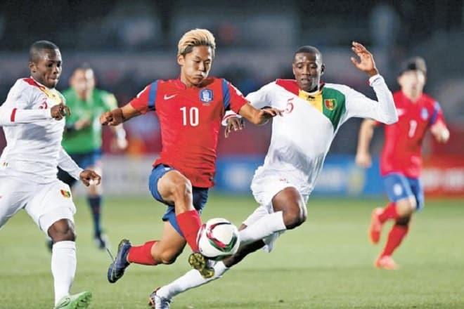 U20 Nam Phi vs U20 Han Quoc