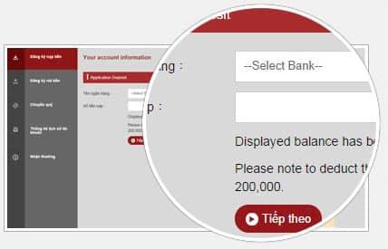 Chọn ngân hàng