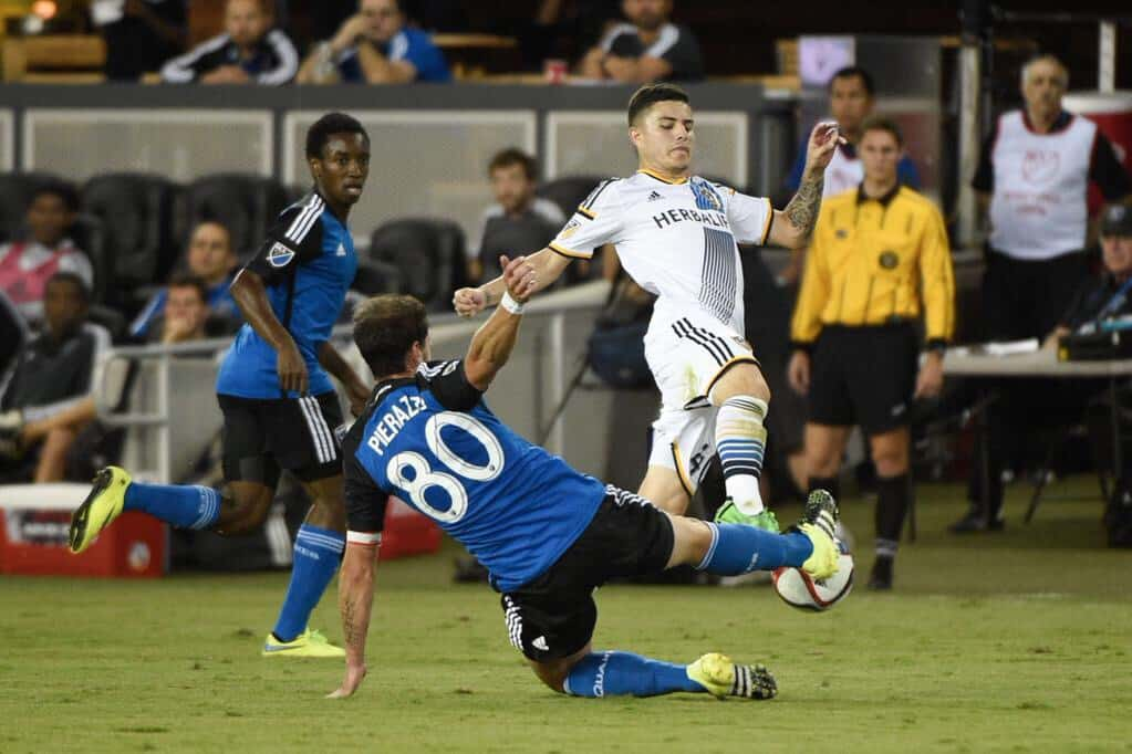 Los Angeles Galaxy vs San Jose Earthquakes