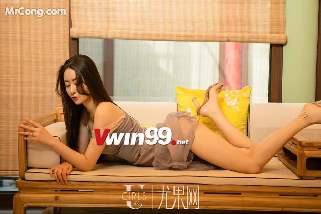Mrcong - Mu Fei Fei: Ảnh gái ngon, hở hang trong làn lụa mỏng