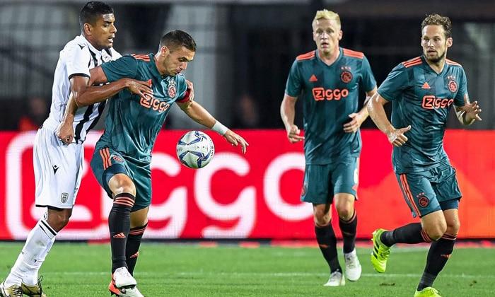 Ajax Amsterdam vs Apoel Nicosia