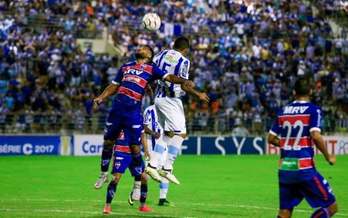 CSA vs Fortaleza