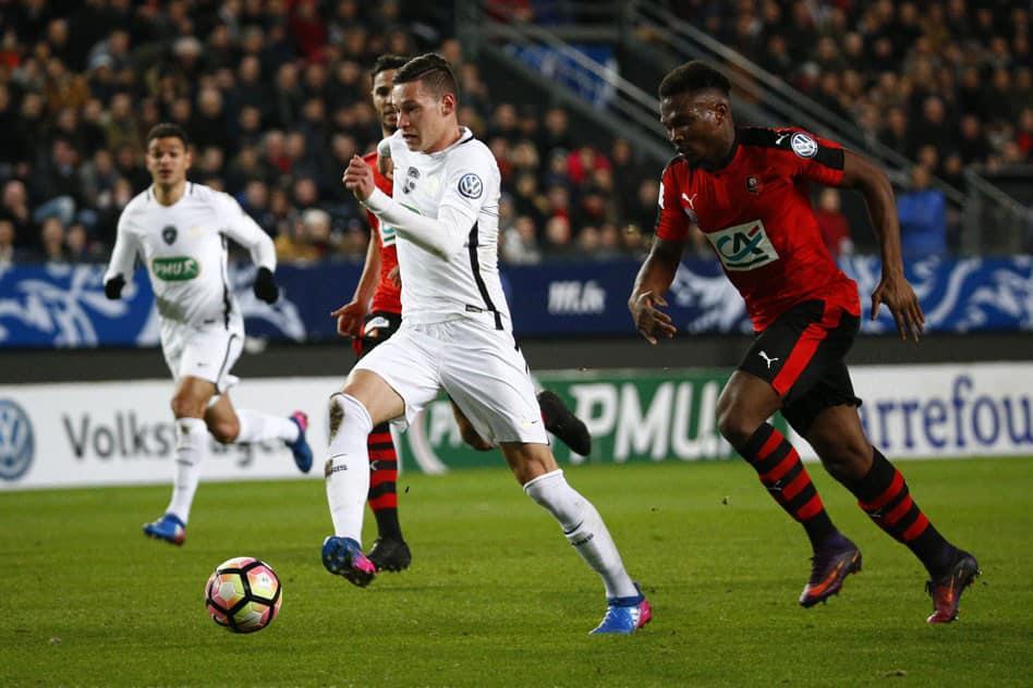 Stade Rennes vs PSG