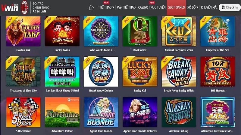 link vào vwin slot game