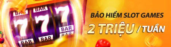 Bảo hiểm cược thua Slot games