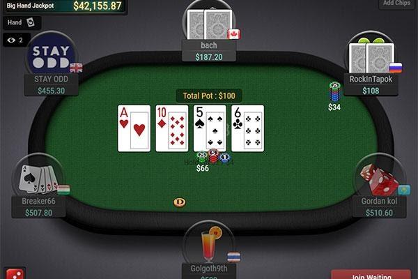 bàn chơi poker online