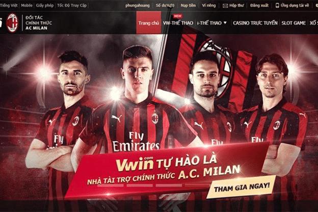 Trang web cá cược thể thao và sòng bài trực tuyến uy tín Vwin