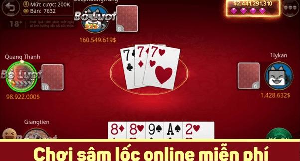 Giới thiệu về trò chơi đánh bài sấm lốc trực tuyến