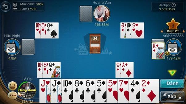Giới thiệu về trò chơi đánh bài tá lả trực tuyến