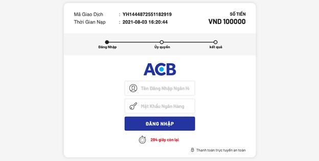 phương thức gửi tiền AE888