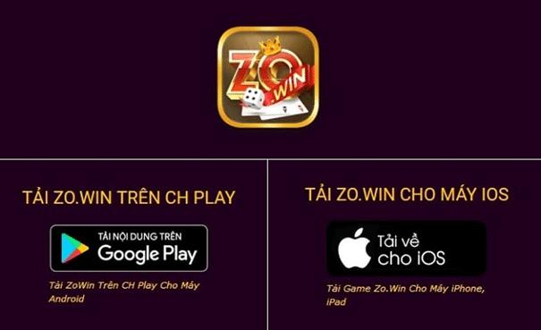 Zowin app