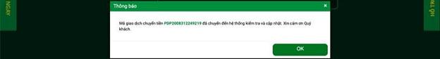cách đặt lệnh gửi tiền FB88