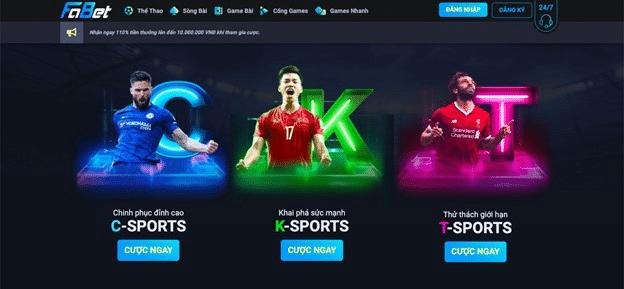 cược thể thao FaBet