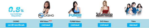 casino trực tuyến Fun88