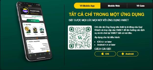 v9bet mobile app