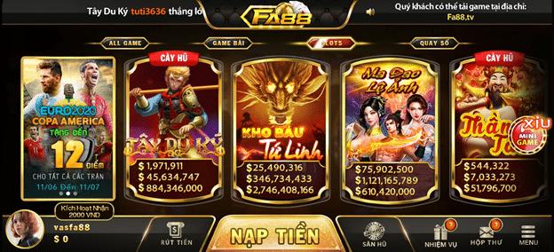 slot game FA88