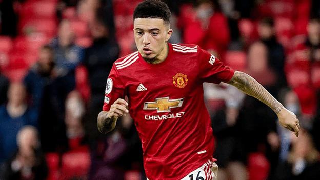 Sancho đang loay hoay tìm chỗ đứng tại Manchester United